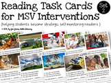 Reading Intervention Task Cards for Emerging & Non Self-Correcting Readers Set 2
