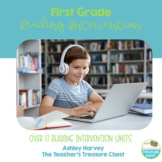 Reading Intervention for Google Slides {First Grade}
