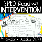 Reading Intervention for Special Education | Phonics, Sigh