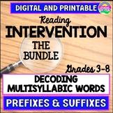 Reading Intervention-Upper Grades-Decoding Multisyllabic W