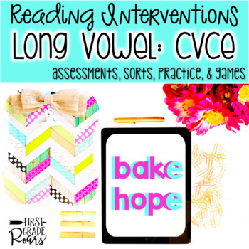 Reading Interventions: CVCe Assessments, Practice, and Games