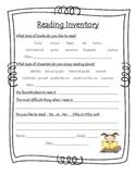 Reading Inventory