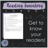 Reading Inventory Survey