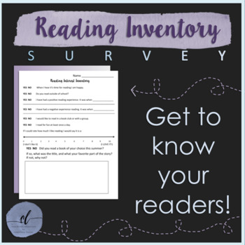 photo relating to Printable Informal Reading Inventory known as Everyday Examining Stock Worksheets Coaching Products TpT