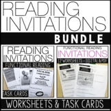 Reading Invitations BUNDLE, Functional Reading Skills, Special Ed