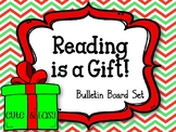 Reading Is A Gift. Bulletin Board Set.  Library. Gifts.