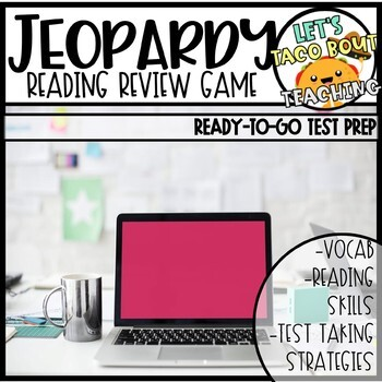 Reading Jeopardy Review Game