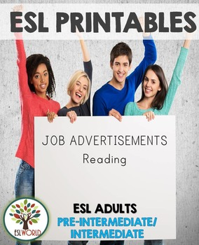 Reading Job Advertisements Activity Sheets