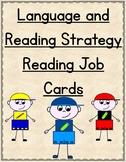 Reading Job Cards - Focusing on Language, Summarizing and