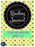Reading Log for Fiction and Non-Fiction