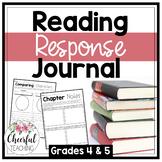 Reading Response Journal: Grades 4 & 5