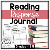 Reading Response Journal: Grades 4 & 5
