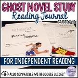 Reading Journal Accompanying the Novel GHOST Distance Learning