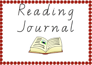 Reading Journal Book Cover