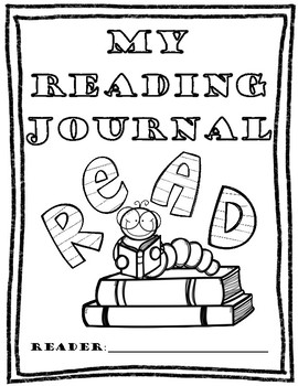 Reading Journal Cover Page