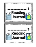 Reading Journal Covers