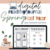 Reading Journal for Digital Learning for Spring and Summer