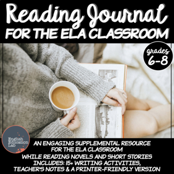 Reading Journal- English Language Arts- Middle School