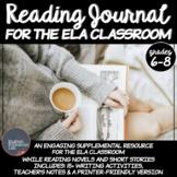 Reading Journal- English Language Arts- Middle School