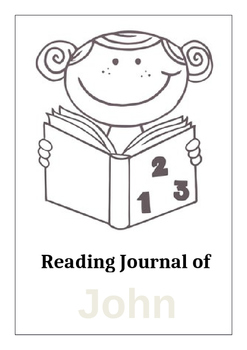 Reading Journal Front Cover