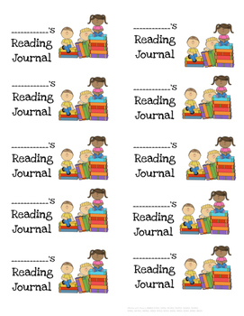 Reading Journal Labels