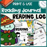 Reading Journal {PDF / Reading Log / Printable}
