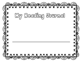 Reading Journal Pages