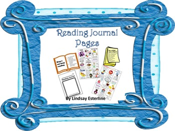Reading Journal Pages and Strategy Posters