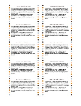 Reading Journal Prompt:  ELA Common Core Language 5.4