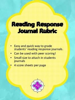 Reading Journal Quick Grade!
