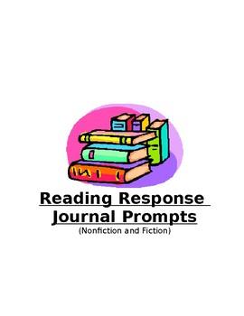 Reading Journal Response Options