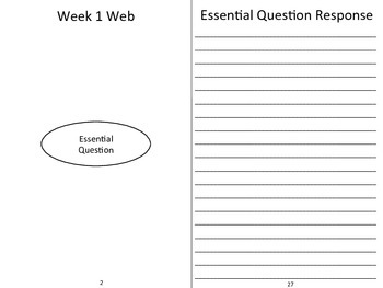 Reading Journal Template