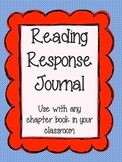 Reading Journal for ANY chapter book!