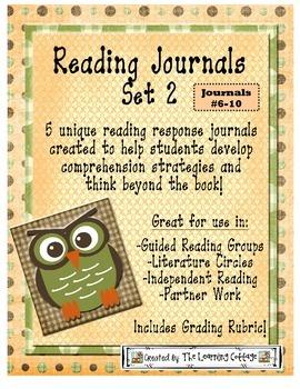 HOTS Reading Response Journals Set 2