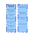 Reading K-3 Bookmark to Generate Discussion