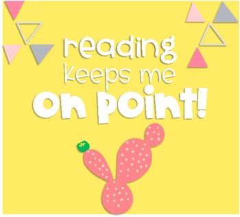 Reading Keeps Me On Point!