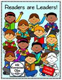 Reading Kids Clip Art