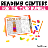Reading Kindergarten Centers for the Year