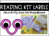 Reading Kit Labels