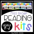 Reading Kits - FIRST GRADE *GROWING BUNDLE* Levels F-J