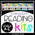 Reading Kits - KINDERGARTEN GROWING BUNDLE Levels A-E