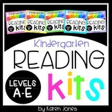 Reading Kits - KINDERGARTEN BUNDLE Levels A-E