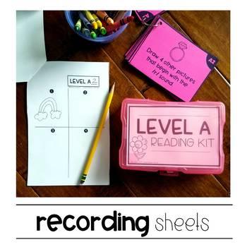 Reading Kits - LEVEL A