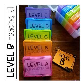 Reading Kits - LEVEL B
