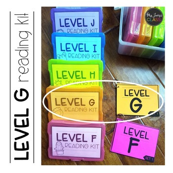 Reading Kits - LEVEL G