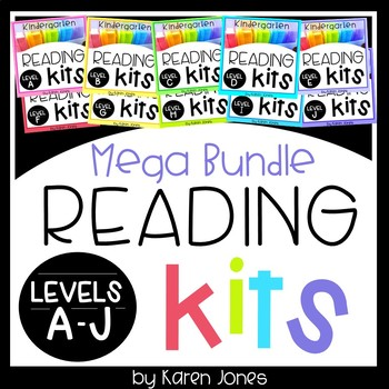 Reading Kits *MEGA BUNDLE* Levels A-J