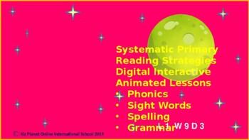 Reading PPT Lessons Gr 1 +: Phonics, Sight Words: L 1 Wk 2: CVC short a, ag ad