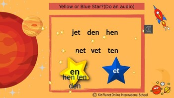 Reading PPT Lessons Gr 1 +: Phonics, Sight Words:L 1 Wk 7: CVC short o, ot og op