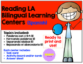 Reading LA Bilingual Learning Center/Centros de lectura y lenguaje (Bundle)