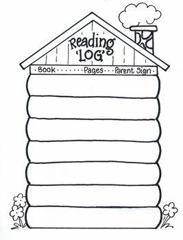 Reading 'LOG' Cabin